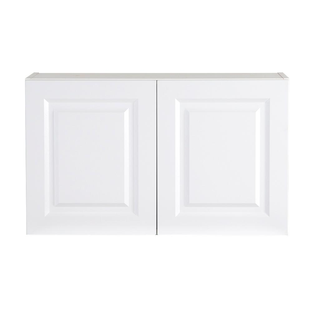 Benton Assembled 30x18x12 in. Wall Cabinet in White