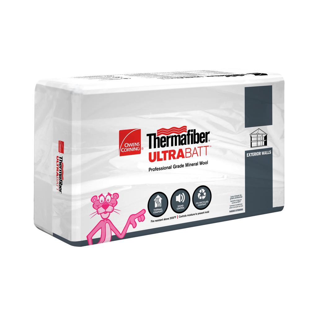 R-23 Thermafiber UltraBatt Mineral Wool Insulation Batt 23 in. x 47 in.