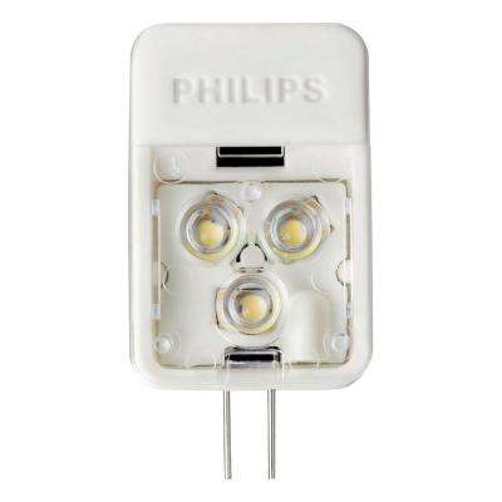 20W Equivalent Soft White (2700K) T3 Desk and Cabinet G4 Base 12-Volt LED Light Bulb
