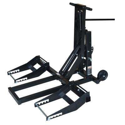 300 lb. Capacity 24 in. Hydraulic High Lift for Riding Lawn Mower and ATVs