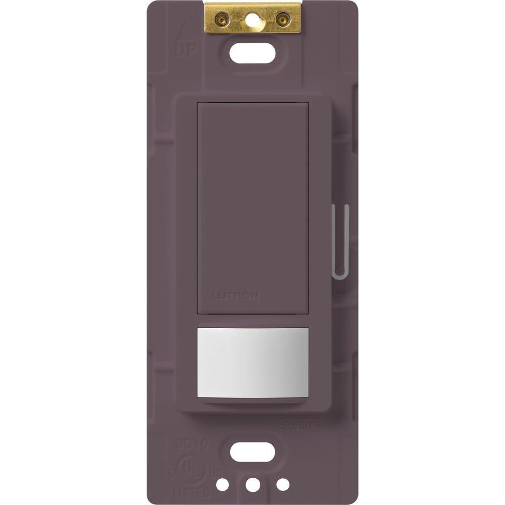Maestro Motion Sensor switch, 5-Amp, Single-Pole or Multi-Location, Plum
