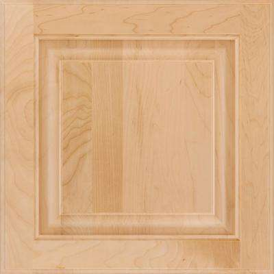 13 in. x 12-7/8 in. Cabinet Door Sample in Olmsted Maple Natural