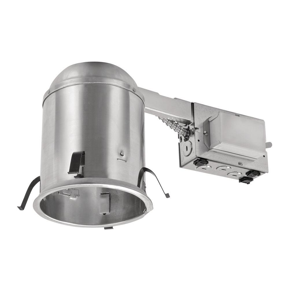 Halo H573 5 in. Aluminum CFL Recessed Lighting Housing for Remodel ...