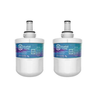 2 Compatible Refrigerator Water Filters Fits Samsung DA29-00003G (Value Pack)
