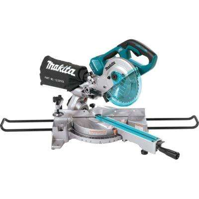 18-Volt X2 LXT Lithium-Ion 1/2 in. Brushless Cordless 7-1/2 in. Dual Slide Compound Miter Saw (Tool-Only)
