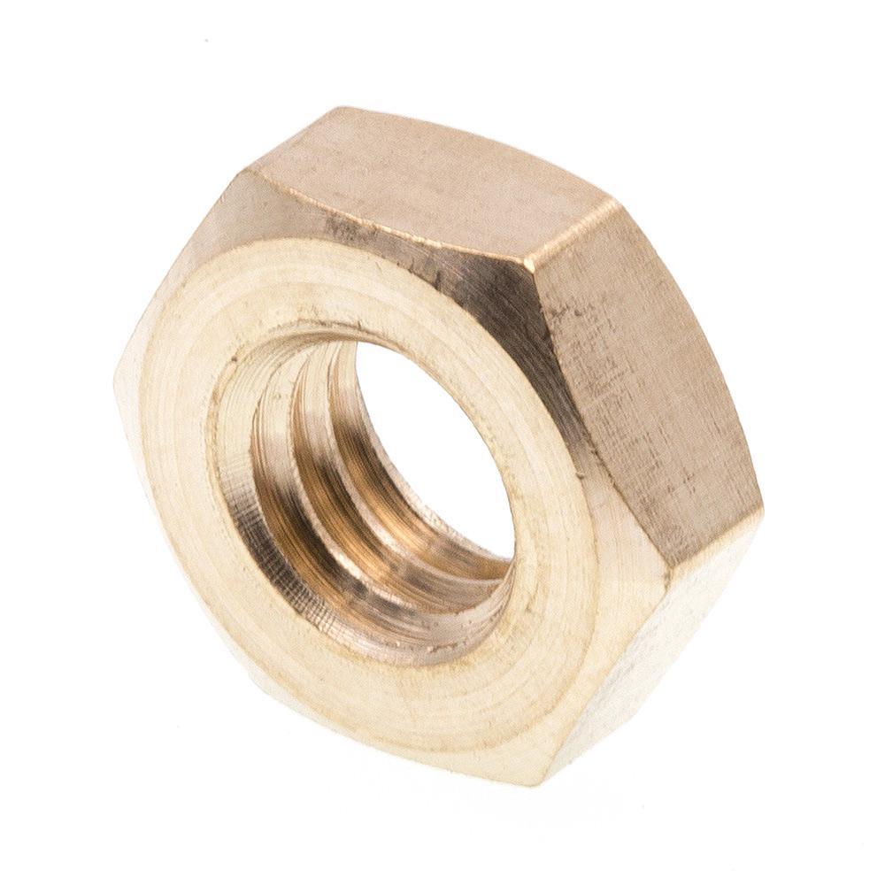 Hex Machine Screw Nuts #10-32 Brass 75 pcs