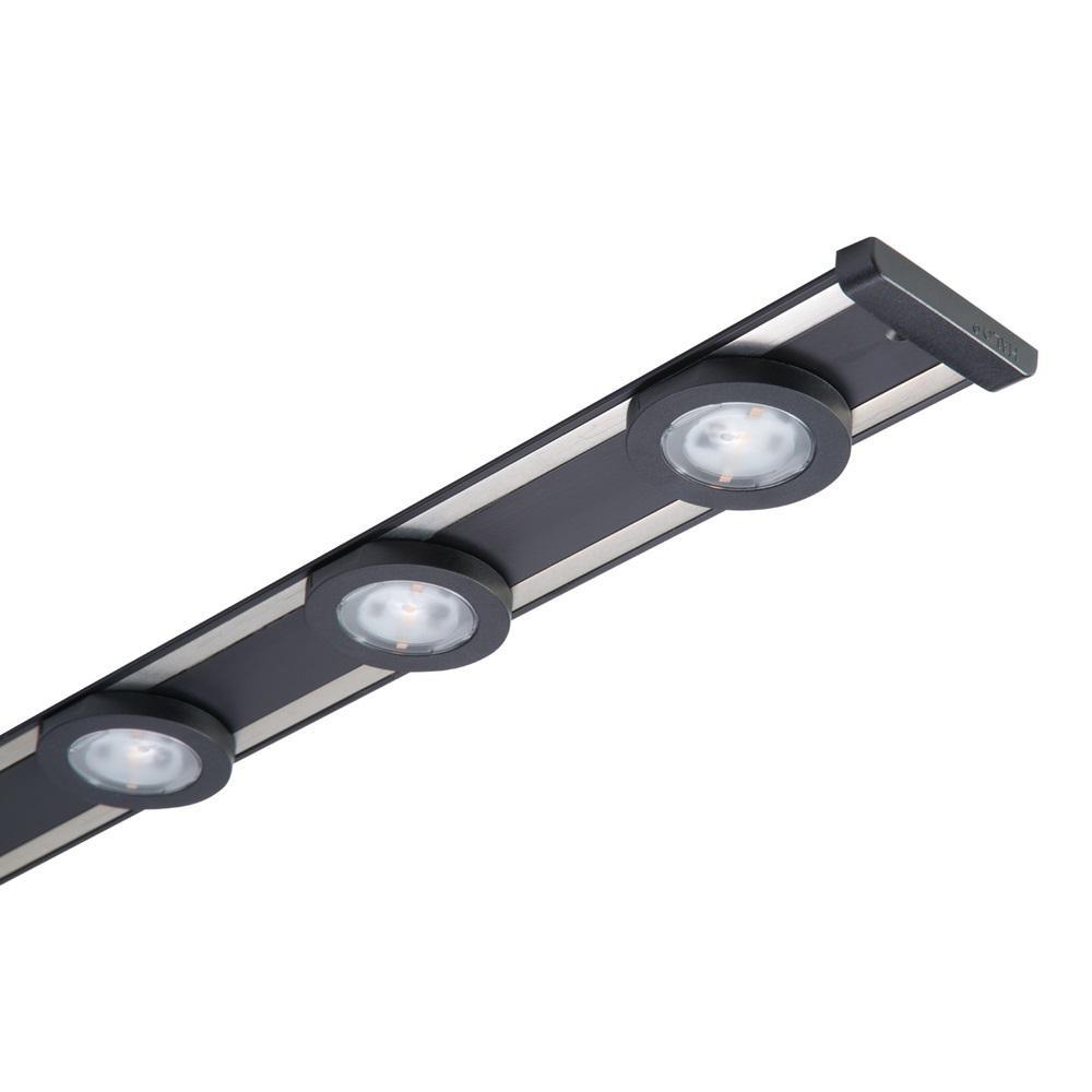 Halo 24 In Led Black Under Cabinet Puck Light Kit