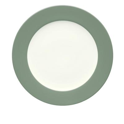 Colorwave 11 in. Green Rim Dinner Plate