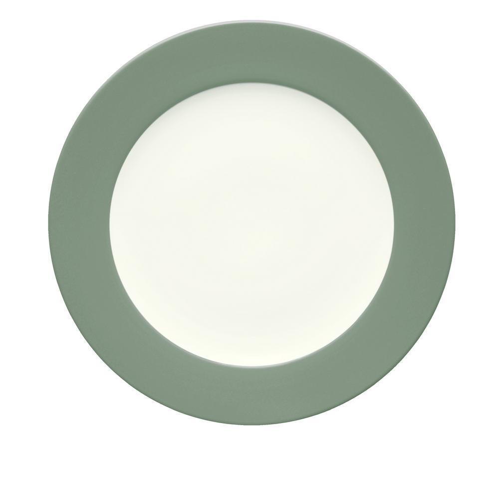 Noritake Colorwave 11 in. Green Rim Dinner Plate 8485-606