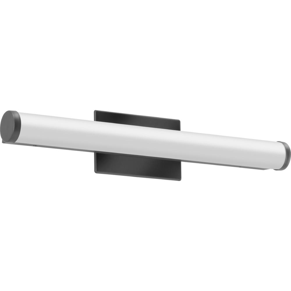 Lithonia Lighting 24 in. Black Integrated LED Vanity Light Bar with Selectable Color Temperature