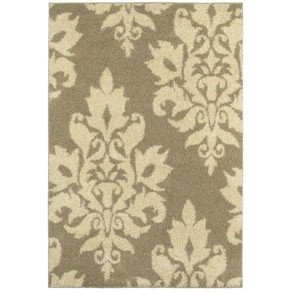 home decorators collection meadow damask ivory 4 ft x 6