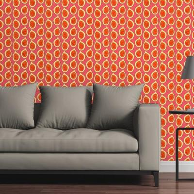 Whimsical Papayas by Raygun Removable Wallpaper Panel