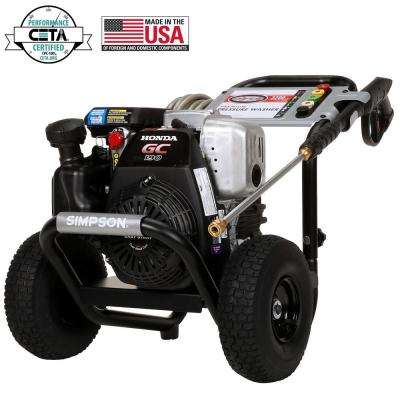 MegaShot 3200 psi at 2.5 GPM HONDA GC190 Premium Gas Pressure Washer
