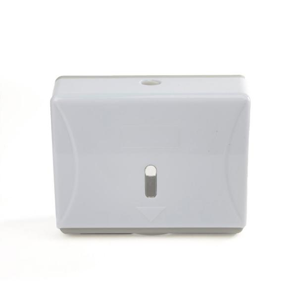 Wall Mounted Multi-Fold Paper Towel Dispenser, White