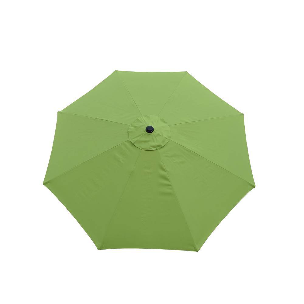 9 ft. Tilt Patio Umbrella in Green