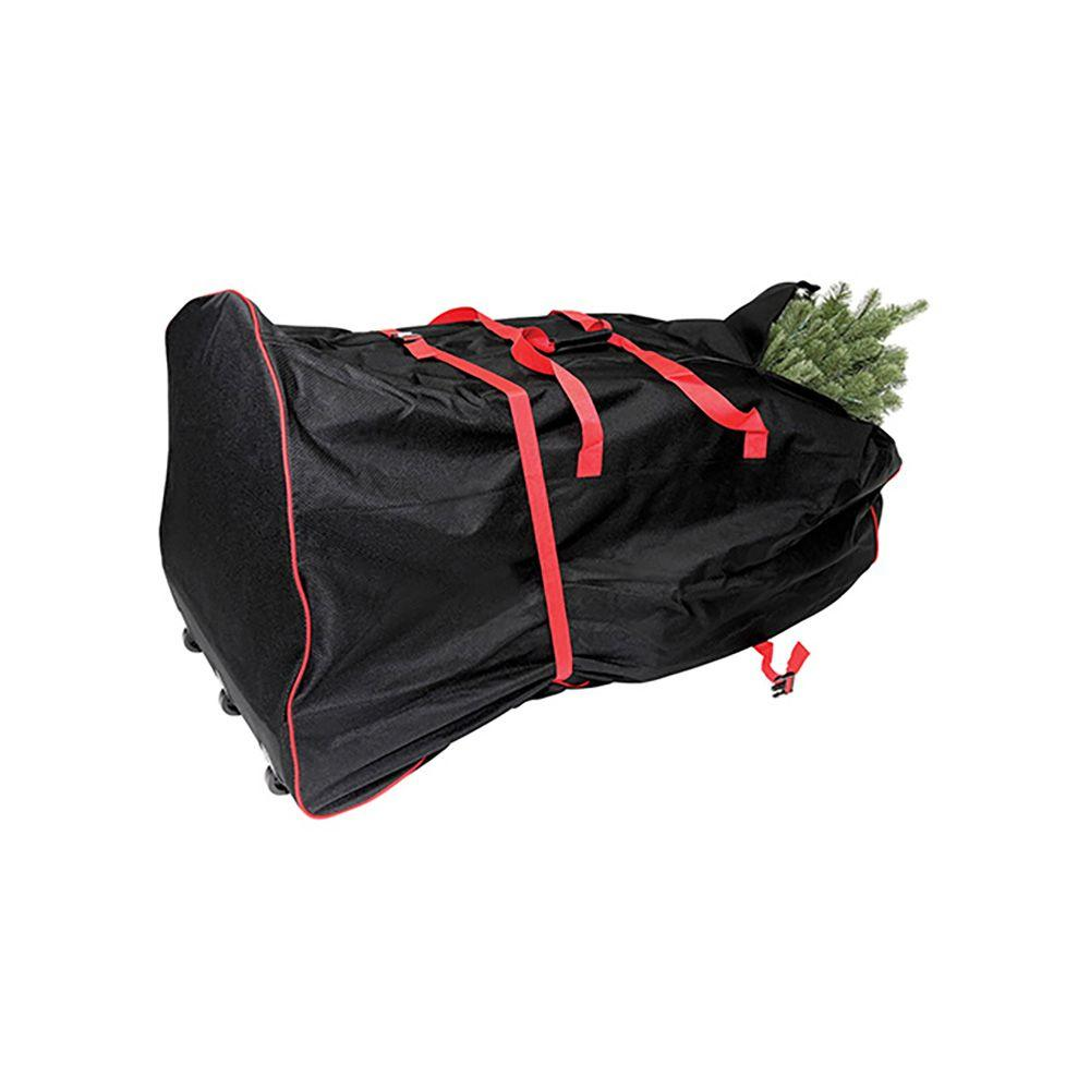 Premium Artificial Rolling Tree Storage Bag For Trees Up To 9 Ft 75016 1ho The Home Depot