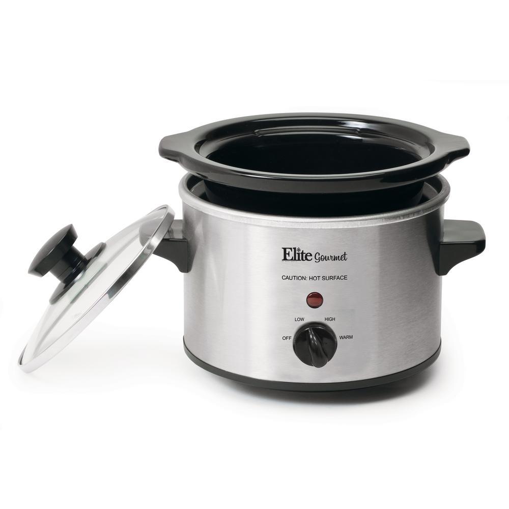 Elite Gourmet 1.5 qt. Mini Slow Cooker