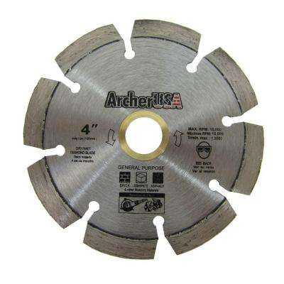 4 in. Diamond Blade for General Purpose