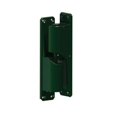 1.75 in. Heavy Duty Center Mount Green Hinge (2-Pack)