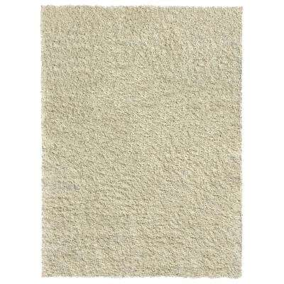 Bella Collection Ivory 3 ft. 3 in. x 4 ft. 8 in. Area Rug