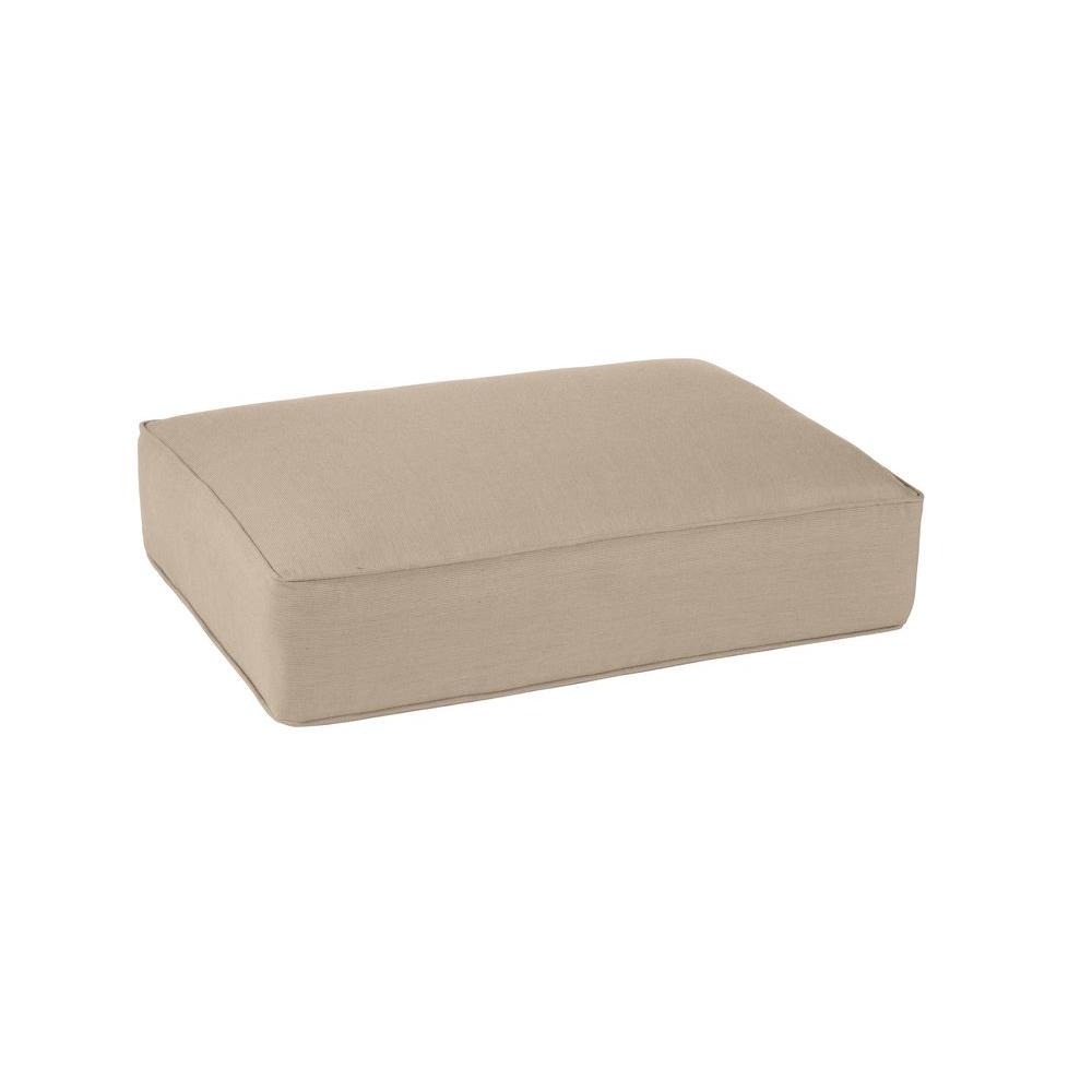 Northshore Replacement Outdoor Ottoman Cushion in Sparrow