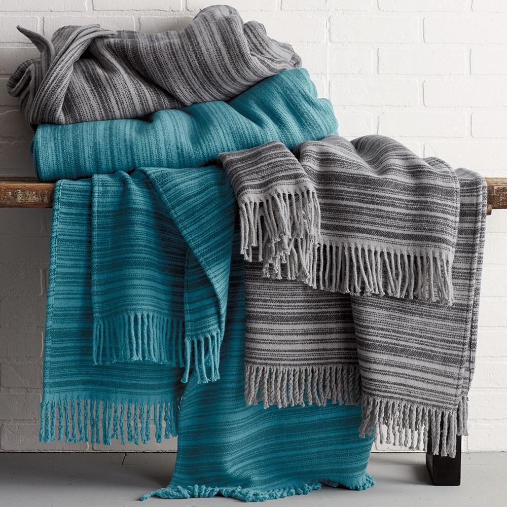 Strie Striped Blanket