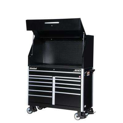 SHD Series 54 in. 12-Drawer Tool Chest and Cabinet Combo in Black