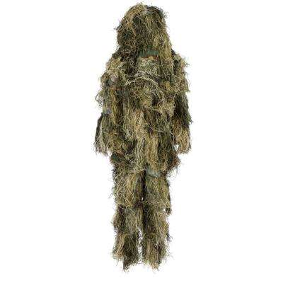 3-Piece Ghillie Suit with Sniper Costume for Airsoft Paintball and Outdoors