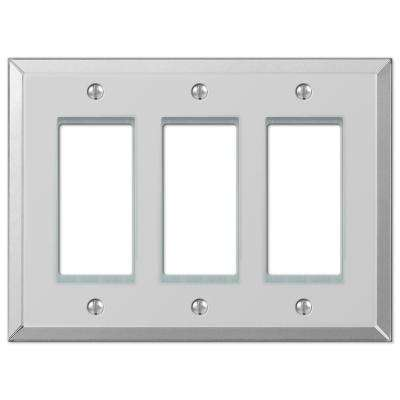 Acrylic Mirror 3-Gang Decora Wall Plate