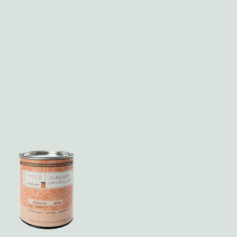 YOLO Colorhouse 1-Qt. Bisque .06 Flat Interior Paint-DISCONTINUED