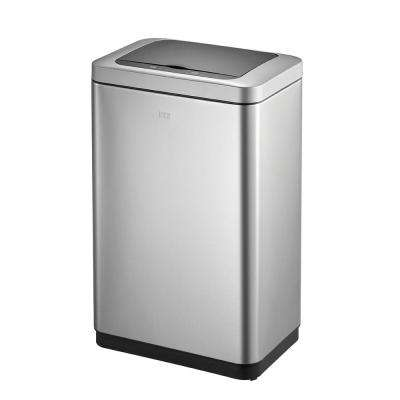 Bravia Stainless Steel 50 in. l Motion Sensor Trash Can
