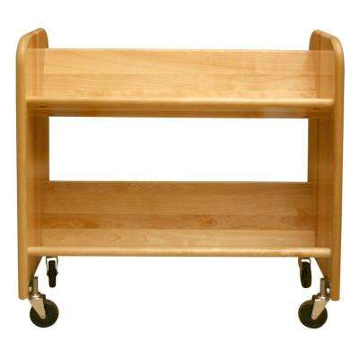 Rol-Rack 2-Shelf Bookcase
