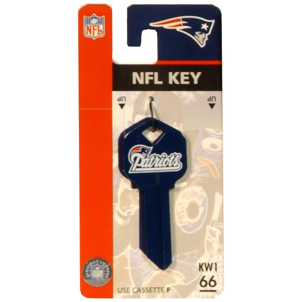 The Hillman Group 66 New England Patriots House Key 89763