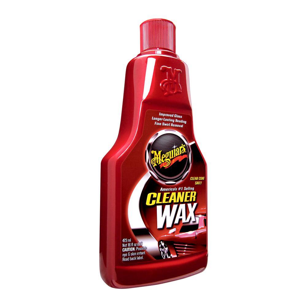16 oz. Automotive Cleaner Wax Liquid