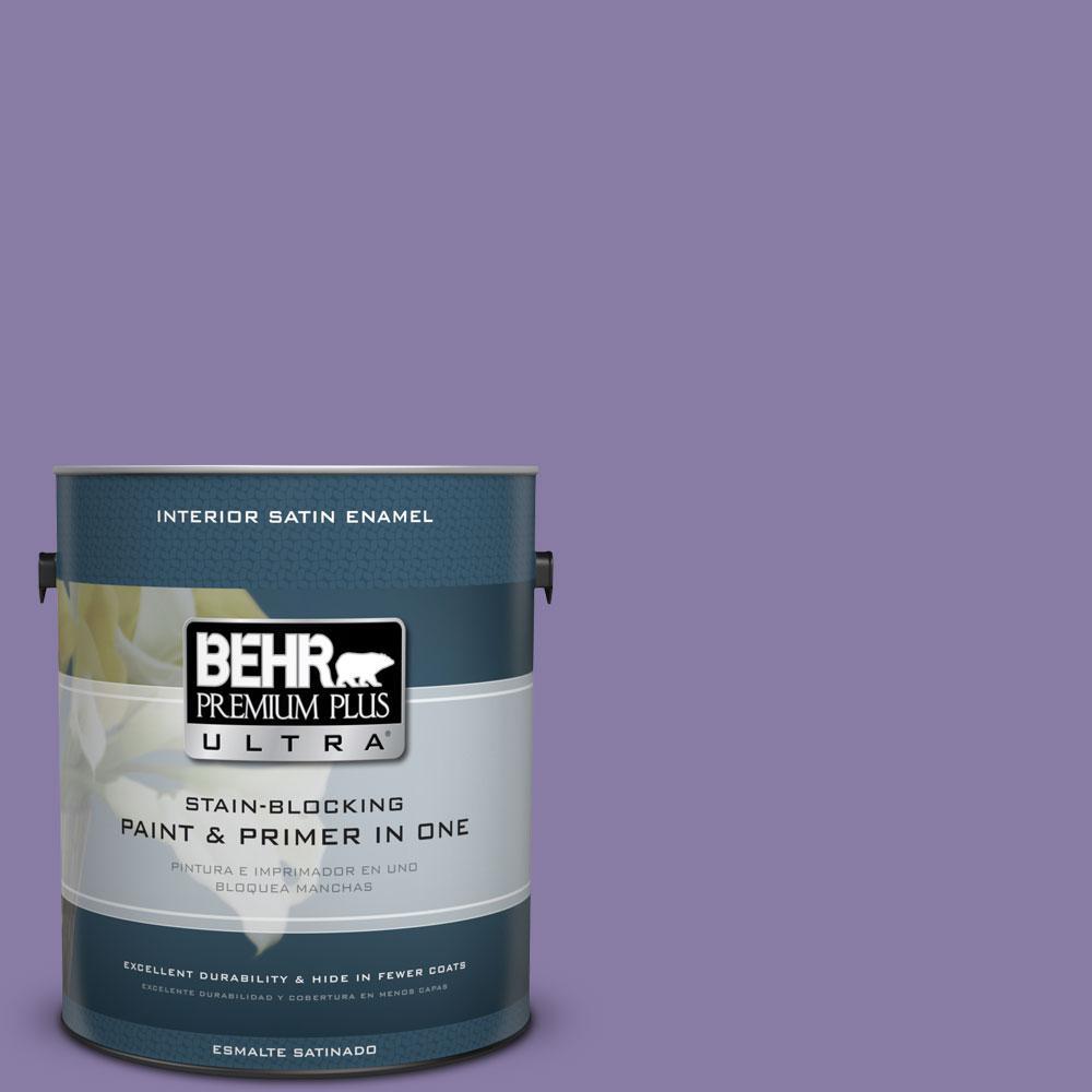 BEHR Premium Plus Ultra 1-gal. #M560-5 Second Pour Satin Enamel Interior Paint