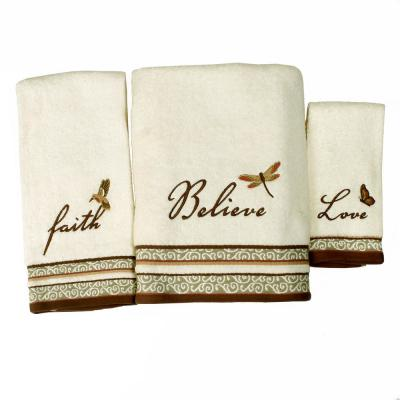 Inspire Cotton Hand Towel in Natural
