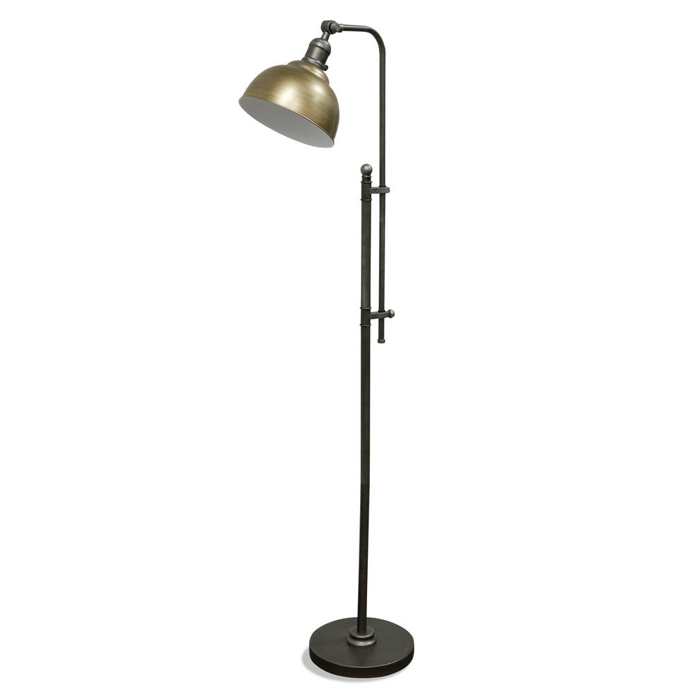 Black And Gold Floor Lamp