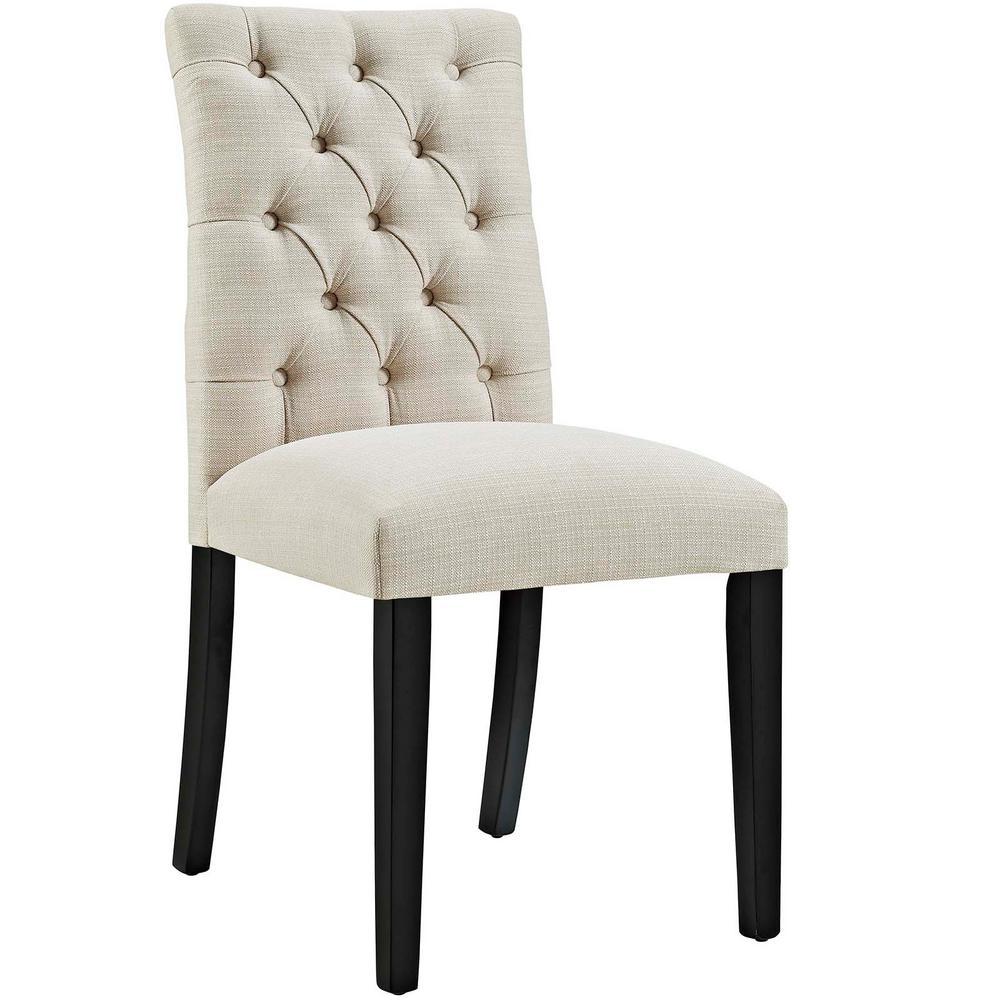 Duchess Beige Fabric Dining Chair