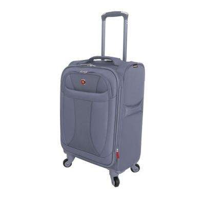 20 in. Lightweight Spinner Suitcase in Grey