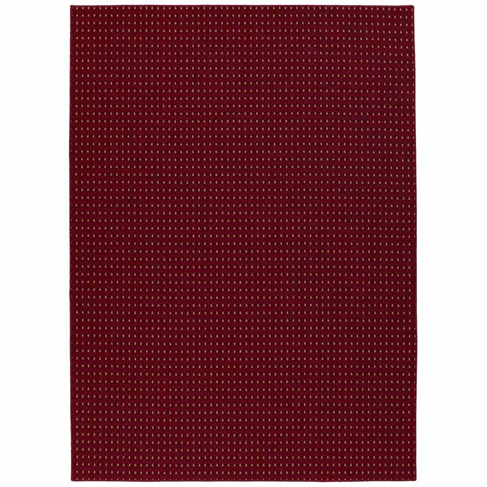 Garland Rug Jackson Square Chili Red 7 Ft 6 In X 9 Ft 6 In Area Rug Js 00 Ra 7696 14 The
