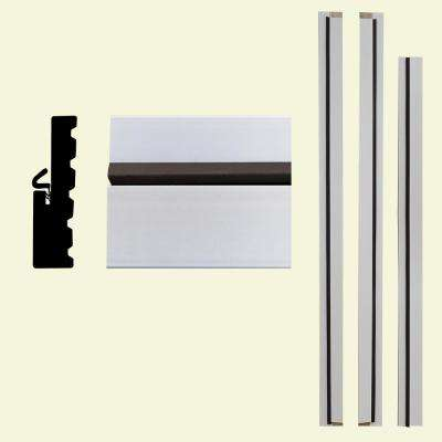 4Ever Frame 1-1/4 in. x 4-9/16 in. x 83 in. Primed Composite Patio Door Frame Kit