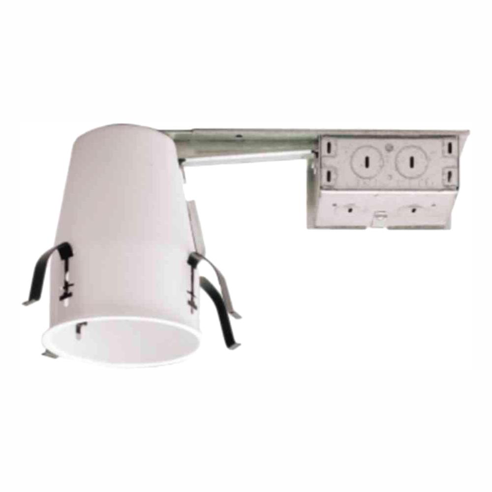 Halo H99 4 In Steel Recessed Lighting Housing For Remodel Ceiling No Insulation Contact Air E 6 Pack