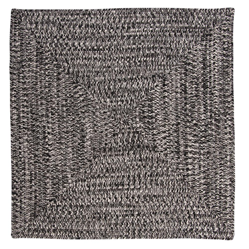 Home Decorators Collection Marilyn Tweed Zebra 8 Ft X Square Braided Rug