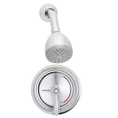 Sentinel Mark II Regency 1-Handle 1-Spray Shower Faucet with Pressure Balance Valve in Polished Chrome (Valve Included)