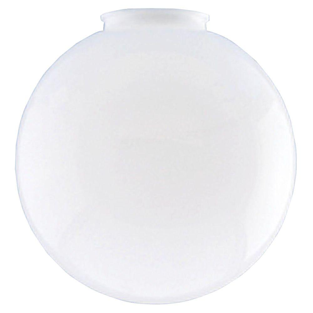 Westinghouse 7-15/16 in. White Acrylic Globe with 4 in. Fitter