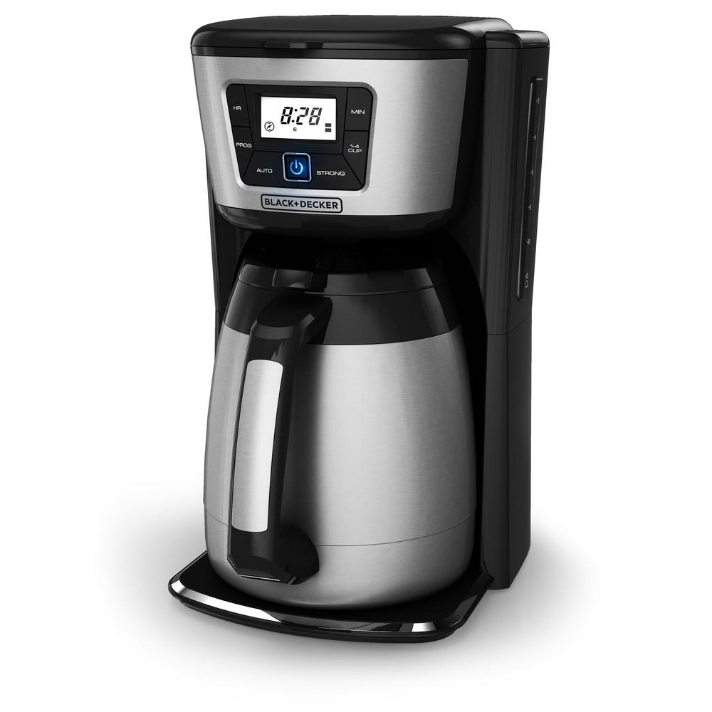 Black Decker 12 Cup Thermal Coffeemaker