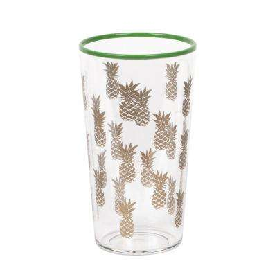 21 oz. Tropical Gold Accents Pineapple Jumbo (Set of 6)