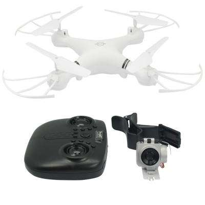 2.4GHz 4-Channel R/C Drone with Mountable 720p Wi-Fi Camera and One Key Return