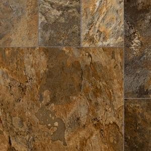 Trafficmaster Quarry Stone Slate Rust 13 2 Ft Wide X Your