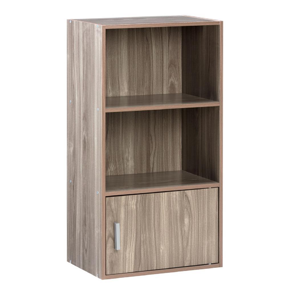 Onee Walnut Small Bookshelf